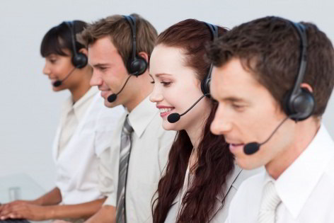 live call center representatives